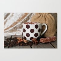 Coffee Time, Any Time Canvas Print