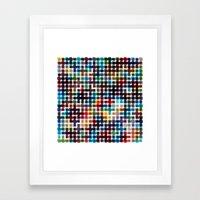 Rope Geometric Art Print… Framed Art Print