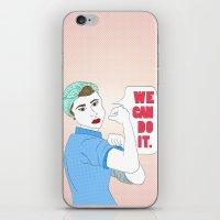 Rosie the Riveter iPhone & iPod Skin