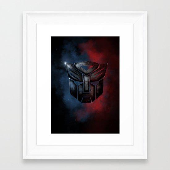Autobot Framed Art Print