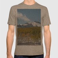 Colorado Mens Fitted Tee Tri-Coffee SMALL