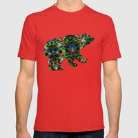 Triangle affair Mens Fitted Tee Red SMALL