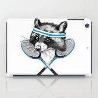 Little Raccoons Tennis C… iPad Case
