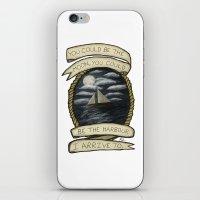 Nautical Drawing iPhone & iPod Skin