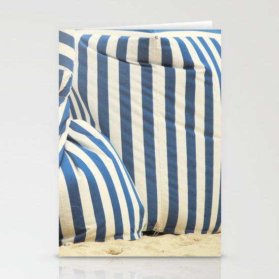 In The Beach Stationery Card