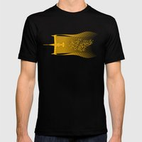 Space Horse (Spikes Hors… Mens Fitted Tee Black SMALL