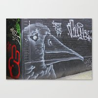 Big Beak  Canvas Print
