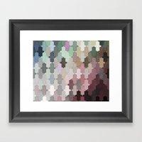 Toned Down Framed Art Print