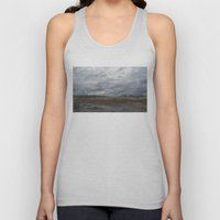 Crane in the Swamp Unisex Tank Top