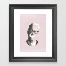 Roger Sterling | Mad Men… Framed Art Print
