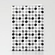 Yves - Greyscale Monochr… Stationery Cards