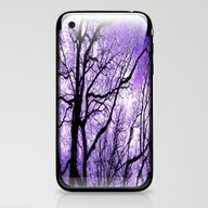 The Trees Know (purple) iPhone & iPod Skin