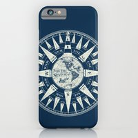 iPhone & iPod Case featuring Sailors Compass by paddyroo