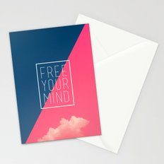Free Your Mind III Stationery Cards