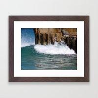 Sea Wall Framed Art Print