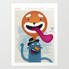 Biscuits & Boobies No. 1 Art Print