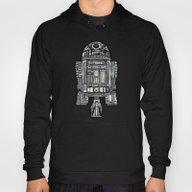 Aztec R2d2 Droid Black A… Hoody
