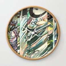 faded 3 Wall Clock
