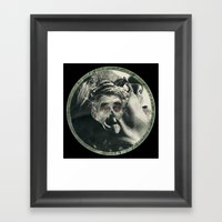 Old Coin Framed Art Print