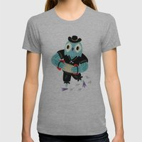 The Animal Jamboree Womens Fitted Tee Athletic Grey SMALL