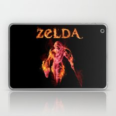 Zelda in Angry Mode Laptop & iPad Skin