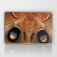 Polyphemus Giant Moth - Wing Detail Laptop & iPad Skin