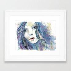 Bohemian woman  Framed Art Print
