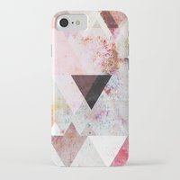 triangle iPhone & iPod Cases featuring Graphic 3 by Mareike Böhmer