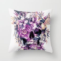 Momento Mori III Throw Pillow