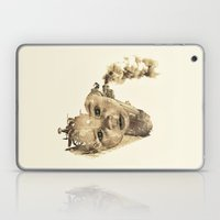 train of life Laptop & iPad Skin