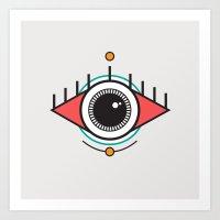 The Seeing Eye Art Print
