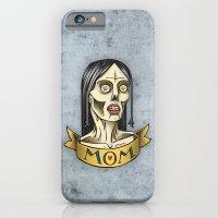 'Mom' Zombie Tattoo Prin… iPhone 6 Slim Case