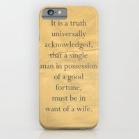 It Is A Truth Universall… iPhone 6 Slim Case