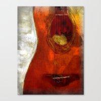 my spanish guitar  Canvas Print