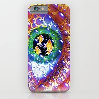 iPhone & iPod Case featuring Eye-Sea 075 by Lazy Bones Studios