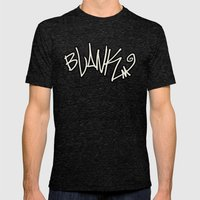 BLANKM GEAR - BLANKM WRITTEN T SHIRT Mens Fitted Tee Tri-Black SMALL