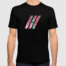 Happy Be(e) Black SMALL Mens Fitted Tee