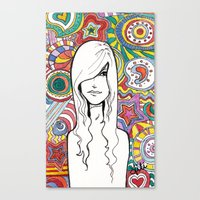 Colorful Mind Canvas Print