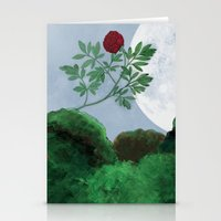 By the Light of the Moon Stationery Cards