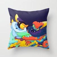 Moon & Stars Throw Pillow