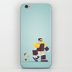 the robot my dad never gave me iPhone & iPod Skin