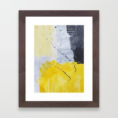 Abstract painting 3 Framed Art Print