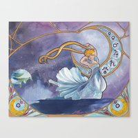 Princess Serenity Canvas Print