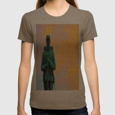 A Soldier's Sunset Womens Fitted Tee Tri-Coffee SMALL
