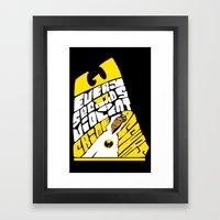 Every 17 Seconds... Framed Art Print