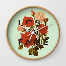 Lost In Fame Wall Clock