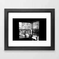 Mon appartement Framed Art Print