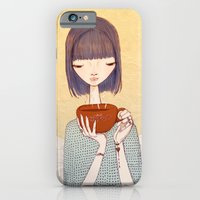 iPhone & iPod Case featuring coffee by Renia