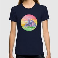 The Ice Kingdom Womens Fitted Tee Navy SMALL