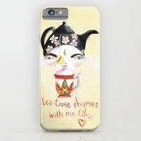Miss Tea-Time iPhone 6 Slim Case